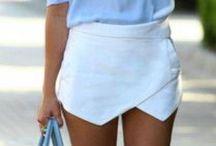 My white skirt