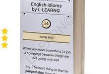 Αγγλικοί ιδιωματισμοί από την L-LEARN© / Γνωστές αγγλικές φράσεις τις οποίες έχουμε δει, ακούσει ή ακόμα χρησιμοποιούμε. Τι σημαίνουν όμως;   #Αγγλικά #αγγλικοί #ιδιωματισμοί