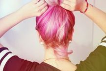 ♥ HAIR | colorful