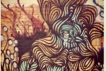 graffitii and street ART / by Elizabeth Gray Felty Forest