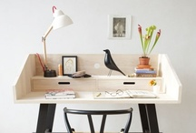 work space / by Elizabeth Gray Felty Forest