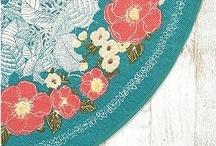nice rug / by Elizabeth Gray Felty Forest