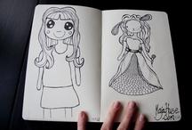 My drawings / Because I like to draw / by Maja Huse