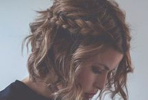 Hair Inspiration / Because hair is an enigma wrapped in a riddle topped with a bow of mystery / by Maja Huse