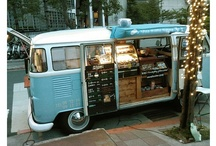 food trucks and trailers / by Jay Findley