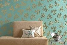 Deck the Walls...with Wallpaper!