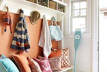 Efficient Entryway / From storage to stylish decor, ideas for entryways & mudrooms that are sure to impress guests.
