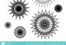 Uniko Decorative Doilies - The Hands Of Time