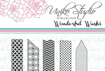 Uniko Studio Wonderful Washi