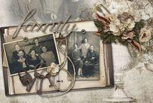 Scrapbooking - Heritage / by Renee Colden