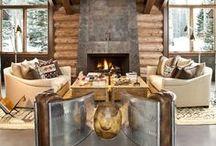 Rustic Chic / Bring this natural, simple, and rugged look home.