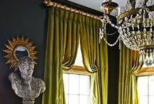 Custom Couture / Drapery and custom design services add style to any space