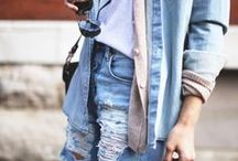 The Blues / Oh those baby blue jeans, and everything I adore about them!