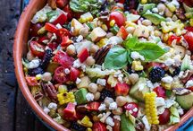 Healthy salads & sides / Easy side dishes/apps / by Brandy Morganti-Furgione