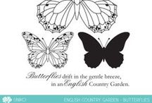 Uniko English Country Garden - Butterflies