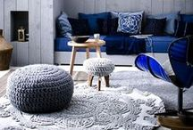 Decorating with Poufs! / Whether in a bold pattern or a bright hue, a pouf or ottoman can add a perfect pop of personality to a room. / by Wayfair.com
