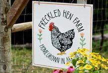 """FreckleD HeN FarM ("""")> / by Lynette ~ Ressie Lillian"""