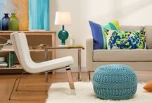 Pillows + Poufs / Whether in a bold pattern or a bright hue, a pillow or pouf can add a perfect pop of personality to a room. / by Wayfair.com