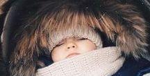 Winterkinder / Ideen und Inspirationen für die winterliche Baby Party oder den ersten Geburtstag eines kleinen Winterkindes.
