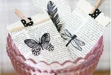 Bestempelte Papeterie / Bestempelte und handgemachte Papeterie Ideen sammel ich hier für Euch. Handmade Geschenkpapier, bestempelte Tags und Geschenktüten, bestempelte Karten, die wirklich jeder selbermachen kann.