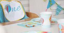 1. Geburtstag mit Heissluftballons / Habt ihr Lust, für den ersten Geburtstag eures kleinen Überfliegers eine Party über den Wolken zu feiern? Lasst euch mit unseren Deko-Ideen hoch in die Lüfte entführen und macht mit eurem kleinen Schatz und seinen Gästen eine Fahrt mit dem Heißluftballon!