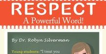 """RESPECT / For the month of December we'll be teaching our students about """"Respect"""", a Powerful Word!"""