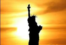 BEAUTIFUL U.S.of A. / God bless America...Land that I love... / by Joan Myrick