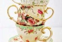 Teacups, Teapots, Tea Parties / by Pam Reeves