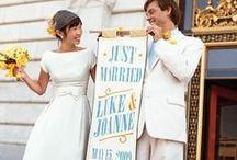 ♥ Boda: Recién casados ♥