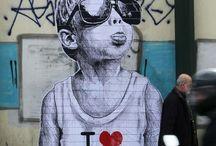 Art - Street art. / Gode ideer til nice hærværk ( LOL )