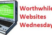 Worthwhile Websites Wed. / Every Wednesday we highlight a website that contains useful tools and information for adult learners and educators #WorthwhileWebsitesWednesday