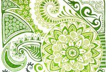 Zentangle / Tips till zentangle