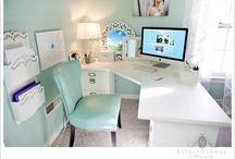 Office ideas❤️ / Work hard dream big