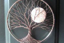 Luffarslöjd/Wire art / Att göra av metalltråd