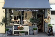 Shop front / Colours and styling