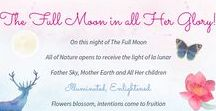 Moon Ceremonies & Meditations / Full Moon, New Moon and Dark Moon Ceremonies, with guided meditations, chants and guidance on how to set up and do a Personal Ceremony.