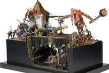 Dioramas / The most interesting fantasy dioramas (mostly Warhammer) found on the web.