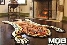 MOB Rugs / Tibetan Tiger, Tattoo, Spirit Board, D20, Bigfoot + more from Middle of Beyond