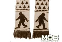 MOB Scarves / Aliens, Krampus, Cthulhu, Bigfoot, D20 + more by Middle of Beyond