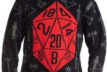 MOB Critical Hit Collection / Critical Hit D20 Sweaters, Scarves, Rugs, Ornaments + more by Middle of Beyond