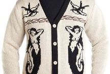 MOB Tattoo Vintage Style Collection / Tattoo and Vintage Style Cardigans by Middle of Beyond