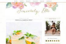 Business & Blogging Tips / Inspiration and tips for branding, design, templates, & social media