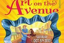 Art on the Avenue / DRA activities during Art on the Avenue