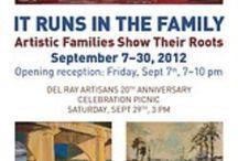 It Runs in the Family. September 7 - 30, 2012 / Art Exhibit