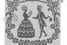 cross stitch - mono