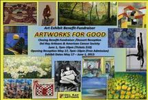 Artworks for Good. May 17 - June 1, 2013 / Art Exhibit May 17 - June 1, 2013. The proceeds of the art exhibit go to support Del Ray Artisans mission. Proceeds from the closing reception will be split between the DRA and The American Cancer Society in honor of Becky Arnold.