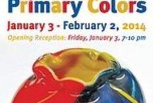 Primary Colors. January 3 - February 2, 2014 / Art Exhibit January 3 - February 2, 2014 Curator Betsy Mead What can be done with just Red, Blue, and Yellow. No mixing of the colors and black or white can be used as highlights/lowlights.