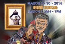 """Portraits of Pop Culture"" March 7 - 30, 2014"