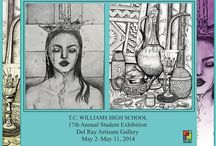 17th Annual Student Art Show. May 2-11, 2014 / Student Art Show May 2-11, 2014 Del Ray Artisans and the TC Williams High School Art Dept joint presentation. The exhibit features the work of members of the National Art Society.