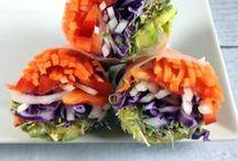 Vegan Wraps Recipes / Delicious vegan wraps.